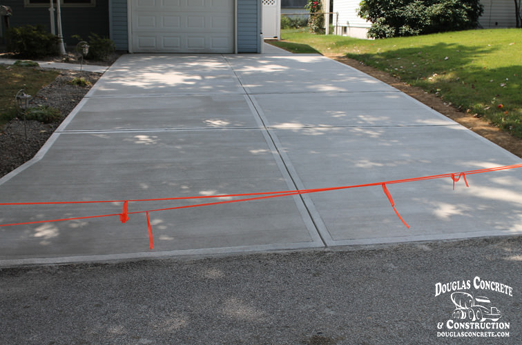 Driveways for New concrete driveway