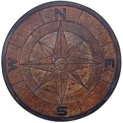 4' Compass Medallion
