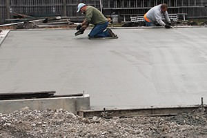 finishing concrete flatwork