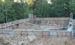 Concrete Foundations and Footings Photo Gallery