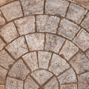 5' or 9' Radius Cobble Stone